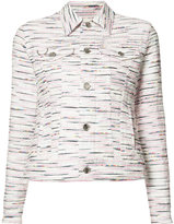Julien David patterned jacket - women - Cotton/Acrylic/Nylon/Cupro - S