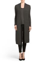 Juniors Long Sleeve Jersey Cardigan