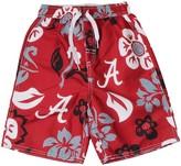 Trunks Unbranded Preschool Wes & Willy Crimson Alabama Crimson Tide Floral Swim