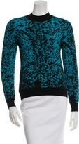 Christopher Kane Wool Pattern Sweater
