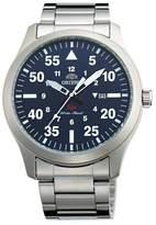 Orient Men's 42mm Steel Bracelet & Case Sapphire Crystal Quartz Dial Analog Watch FUNG2001D0