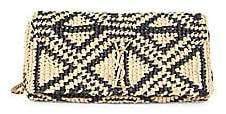 Saint Laurent Women's Kate Crochet Baguette