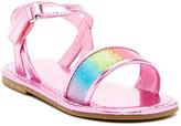 Laura Ashley Metallic Sandal (Toddler)