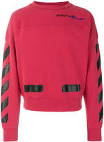 Off-White x Champion crew neck sweatshirt