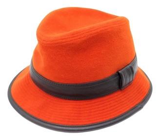 Hermã ̈S HermAs Orange Wool Hats