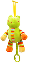 Colorful Froggy Pull-String Toy