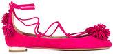 Aquazzura 'Sunshine' ballerinas - women - Leather/Suede - 35