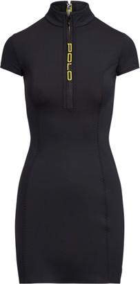Ralph Lauren Stretch Quarter-Zip Dress