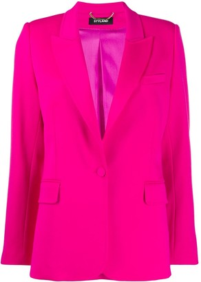 Styland Tailored Peaked Lapel Blazer