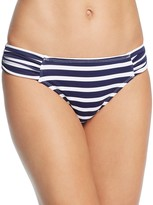 Tommy Bahama Brenton Shirred Side Stripe Bikini Bottom