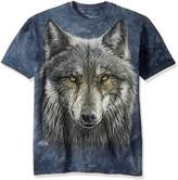 The Mountain Men's Big and Tall Warrior Wolf T-Shirt