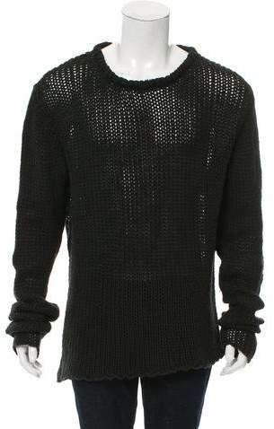Greg Lauren Wool Deconstructed Sweater