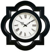 Madison Home USA Lucca Black Wall Clock, One Size , Black