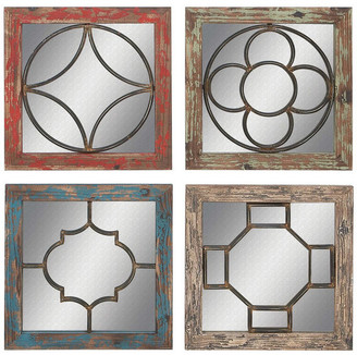 Church's Brimfield & May Windows Mirror Panels, Set of 4