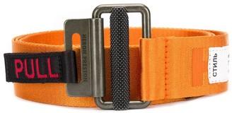 Heron Preston Logo Stitch Tape Belt