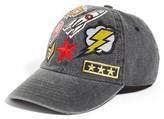 Steve Madden Women's Embellished Baseball Cap - Grey