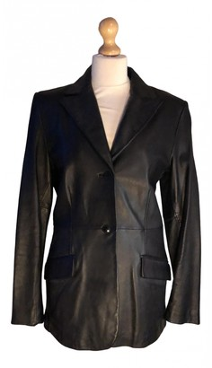 Kenneth Cole Black Leather Jacket for Women