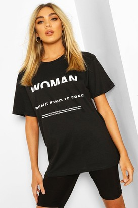 boohoo Woman Print T-Shirt