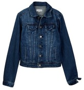 Tractr Western Denim Jacket (Big Boys)