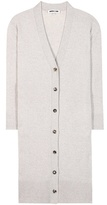 McQ by Alexander McQueen Virgin Wool And Cashmere Long Cardigan