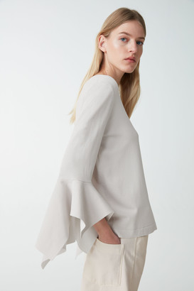 Cos Draped Sleeve Top