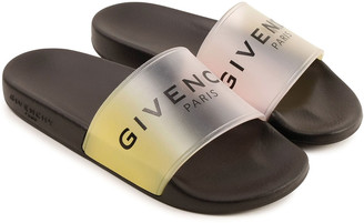 Givenchy Girl's Ombre Logo Pool Slide Sandals, Toddler/Kids