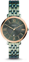 Fossil Jacqueline Three-Hand Date Alpine Green Stainless Steel Watch
