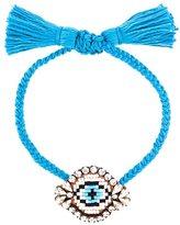 Shourouk 'Eye' beaded bracelet
