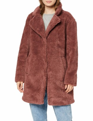 Urban Classics Women's Ladies Oversized Sherpa Coat