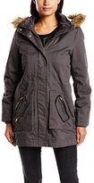 Naf Naf Women's BHAVANA K1 Parka Long Sleeve Coat