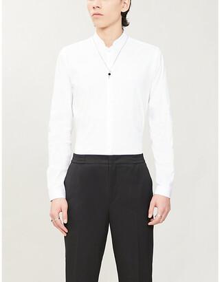The Kooples Slim-fit stretch-cotton shirt