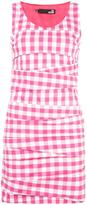 Love Moschino gingham check mini dress - women - Cotton/Polyamide/Spandex/Elastane/Acetate - 40