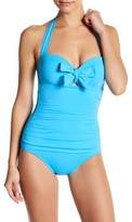 Tommy Bahama Pearl Bow One-Piece Swimsuit