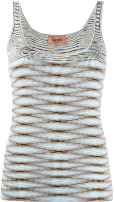 Missoni Intarsia Knit Sleeveless Top
