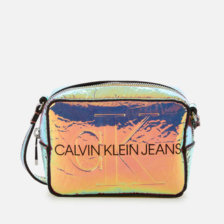 Calvin Klein Jeans Women's Logo Camera Bag - Iridescent