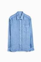 120% Lino Regular Fit Linen Shirt