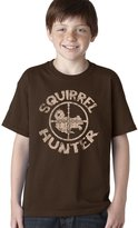 Crazy Dog T-shirts Crazy Dog Tshirts Youth Squirrel Hunter T Shirt Funny Hunting Shirt Squirrels Tee For Kids XL