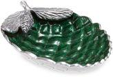 Julia Knight Luxe Lodge Pine Cone 11-Inch Bowl in Emerald