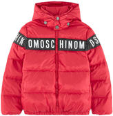Moschino Logo down jacket