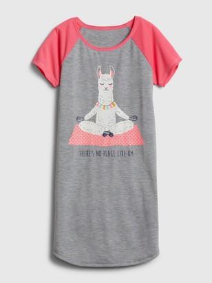 Gap Kids Llama PJ Dress