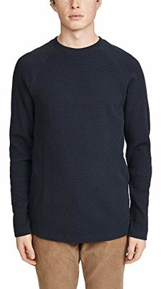 Theory Men's River Stretch Cotton Long Sleeve T-Shirt