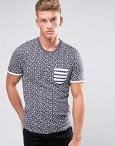 Brave Soul Star Print T-Shirt
