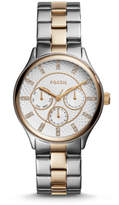 Fossil Modern Sophisticate Multifunction Two-Tone Stainless Steel Watch