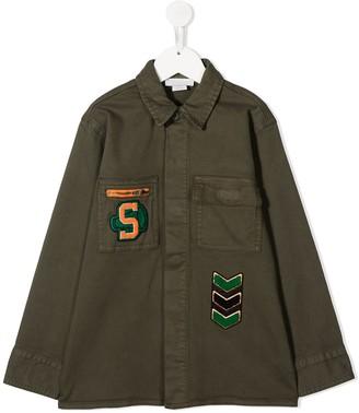 Stella Mccartney Kids Patch Embroidered Jacket