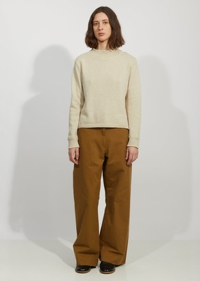 Mhl By Margaret Howell Linen & Cotton Officers Jumper Sweater