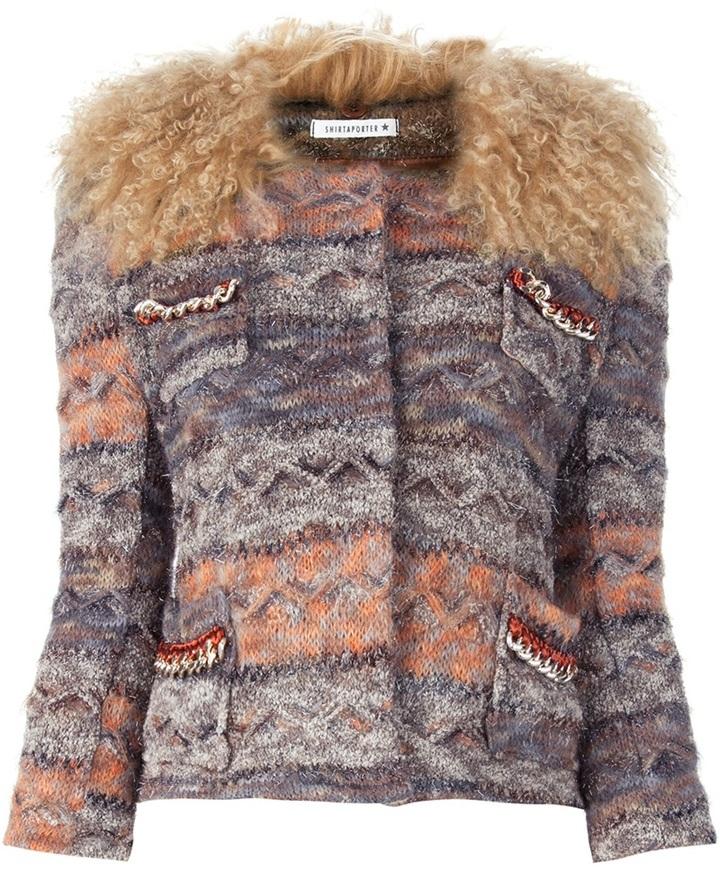 Zucca Shirtaporter 'Zucca' knitted top