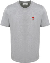 Thumbnail for your product : Ami Logo Embroidered T-Shirt