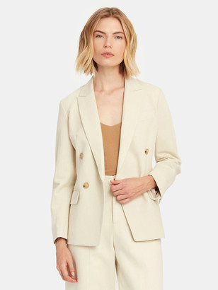 Vince Double Breasted Blazer