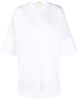 Gentry Portofino Oversized Short-Sleeve Shirt