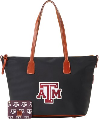 Dooney & Bourke NCAA Texas A&M Top Zip Tote